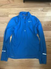 nike dry fit shirt long sleeve Blue Mens Small