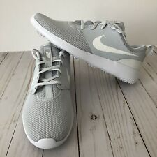 Nike Roshe G Mens Golf Shoes Size 11 Spikeless White Platinum AA1837-002