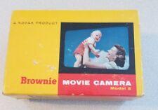 Kodak Brownie 8mm Movie Camera No. 77 - Model 2 -  f2.3 Lens - Original Box