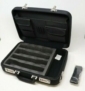 4 Microphone Carrying Case Mic Instrument Storage Portable Flight Box