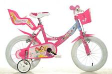 "Dino Disney Princess Pink Kids Girls Bike Bicycle 14"" Pneumatic Wheel 144R-PSS"