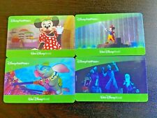 Four 4 Disney World 1 Day Park Hopper Fast Pass Tickets Expires February 27 2022