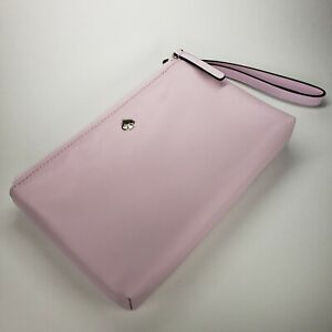 Kate Spade Medium Double Zip Wristlet JAE Model Serendipity Pink WLRU5943 NWT