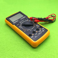 DT9205A Digital Multimeter AC DC LCD Display ElectricTester Multimetro
