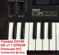 Yamaha DX100 OS v1.1 EPROM Firmware KIT