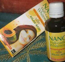 Serum eclaircissant nano half-caste  whitening  serum kojic acid papaya