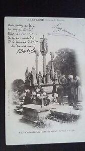 CPA Britain Theodore Botrel Calvary's Laurivain