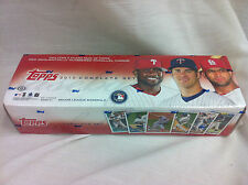 2010 Topps Baseball Complete Set Includes 5 Card Red Parallel Cards
