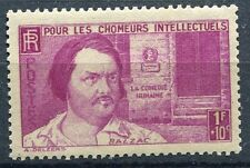 FRANCE TIMBRE  N° 463 ** BALZAC POUR LES CHOMEURS INTELECTUELS