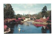 WILMINGTON NC Greenfield Garden Park Water Fall Vtg PC