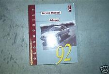 1992 Oldsmobile OLDS ACHIEVA Service Repair Shop Workshop Manual FACTORY OEM