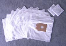 10 Staubsaugerbeutel für Menalux 2001, Staubbeutel Filtertüten + 2 Filter