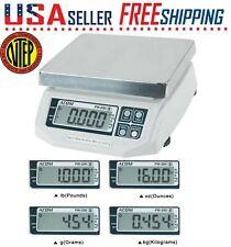 Acom Pw 200 Portion Control Bench Food Scale Netp Lb Oz Kg Grams Switchable