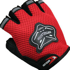 Sports Racing Cycling GLOVES - red
