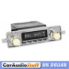 Retrosound Laguna Classic Car Sapphire Spindle Radio with Aux In RC900 VW Style