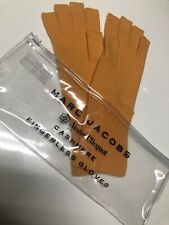 Marc Jacobs Verve Clicquot Cashmere Fingerless Gloves VIP Gift Gold Champagne