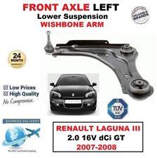 1x Vorderachse links unterer Arm für Renault Laguna III 2.0 16V dCi GT 2007-2008