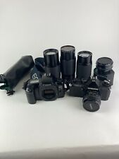 Mixed Lot Of Cameras And Lenses For Parts Or Repair.