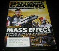 Vintage EGM Electronic Gaming Monthly Video Game Magazine NES PS 2006 issue 207