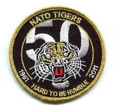 NTM NATO TIGER MEET COLLECTIONS: 1961-2011 50th Anniversary Commemorative Patch