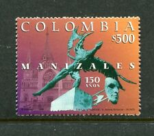 Colombia 1143, MNH, City of Manziles 150th Ann 1998. x23474