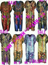 Ladies Womens summer celebrity long Kaftan Dress African style 12 to 24 fit