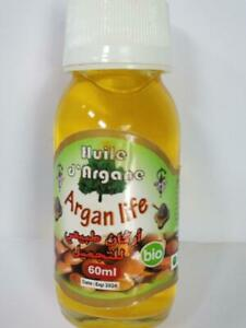PURE & ORGANIC Cold Pressed ARGAN OIL / 60ml / for all skin/hair type