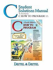 C How to Program Ssm by Harvey M. Deitel
