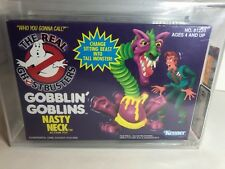 1990 KENNER REAL GHOSTBUSTERS GOBBLIN GOBLINS NASTY NECK AFA 85 MISB