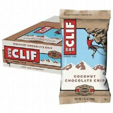 CLIF BARS Coconut Chocolate Chip 12 x 68g