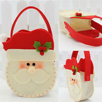Christmas Santa Claus Snowman Decor Xmas Gift Bag Candy Pouch Stocking Bag MW