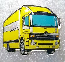 MERCEDES-BENZ ATEGO gelb Email Pin IAA 2000 NEU OVP