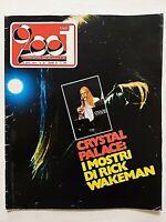 RARE CIAO 2001 36-1974 +POSTER KNEBWORTH FESTIVAL-CRYSTAL PALACE-MARIA MALDAUR