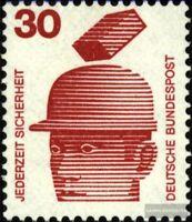 BRD (BR.Deutschland) 698A Ra mit Zählnummer postfrisch 1971 Unfallverhütung