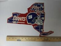 "New York Giants 11""x15"" Plastic Wall Sign [NEW] NFL Wall Plaque"