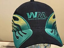 Waste Management WM Trash Recycling Hauler Team Nascar 17 Flames Hat Cap NEW