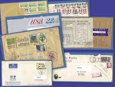 LOT Kuverts u.a. USA Luftpost Anguilla (FDC) Italy Italien Deutschland