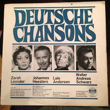 LP Deutsche Chansons >incl.WALTER ANDREAS SCHWARZ-EUROVISION 1956!< Ariola
