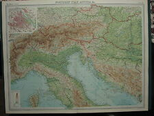 Austria Antique Europe City Maps eBay
