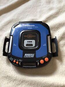 panasonic Portable Cd Player Mash Shock Wave