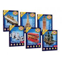 Build-It 3D Mini Puzzles Model Kit Christmas Stocking Filler Gift Present