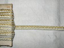 11,50 METRES DE GALON ANCIEN PASSEMENTERIE DE LYON-VINTAGE FRENCH TRIM-N°DEC215
