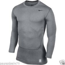 MEN'S NIKE PRO CORE 2.0 COMPRESSION LONG SLEEVE TOP ATHLETIC APPAREL SIZE SMALL