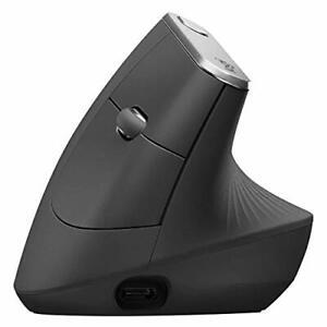 Logitech MX Vertical Ergonomic Wireless Mouse 910-005447 - Graphite
