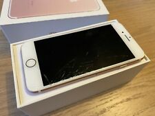 Apple iPhone 7 - 32GB - Rose Gold (O2) - Cracked Screen - A1778 (GSM)
