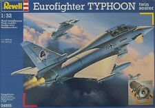 REVELL 1:32 KIT AEREO EUROFIGHTER TYPHOON TWIN SEATER LUNGHEZZA  48,9 CM   04855