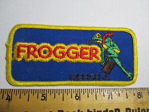 Frogger 1991 Video Game by SEGA Patch Vintage Original NOS Very Rare