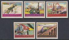 Fujeira 1971 ** Mi.635/39 B Eisenbahn Railway Train Lokomotive Locomotive