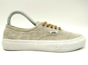Vans Off The Wall Brown Canvas Casual Lace Up Sneakers Shoes Women's 7