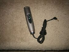 New! Sony Ecm-Ms907 Condenser Cable Consumer Microphone Dat - No Stand No Cover